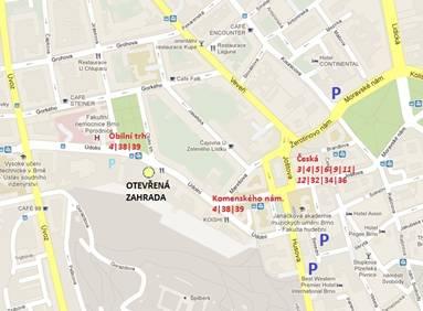 Kde: Brno, Otevřená zahrada, Údolní 33
