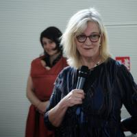 Justine van Lawick in Brno, April 2014
